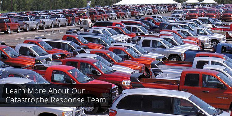 Hail damage car repair insurance claim 13
