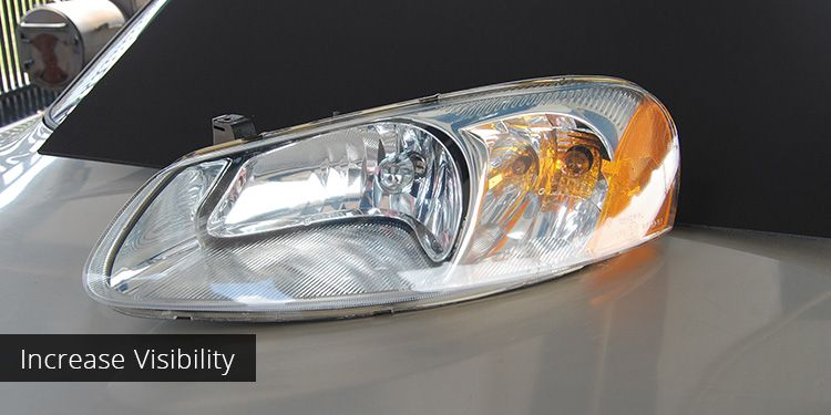 Foggy Car Headlight Restoration