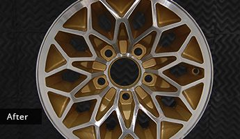 6 Spoke Wheel After Wheel Polishing