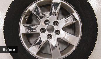 Alloy Wheel Repair Refinishing St Louis Mo Dent Wizard